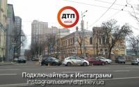 Авария в Киеве: девушка протаранила патрульных