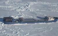 В Азовском море ледоколы спасают терпящий бедствие сухогруз
