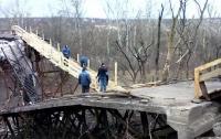 Боевики считают, что жителям оккупированной территории не нужен никакой мост