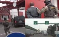 На границе Венгрия-Украина задержали 16 таможенников (видео)