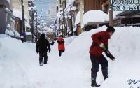 Из-за снегопадов в Японии погибли пять человек