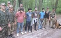 Под Ужгородом задержали нелегалов из Азербайджана и Бангладеш (видео)