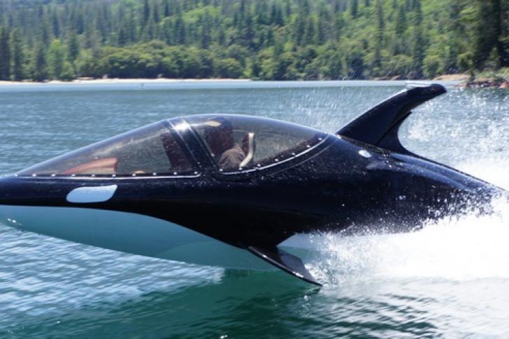 обтекаемая форма подводная лодка