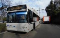 В Украине запустили первые троллейбусы с кнопкой экстренного вызова полиции