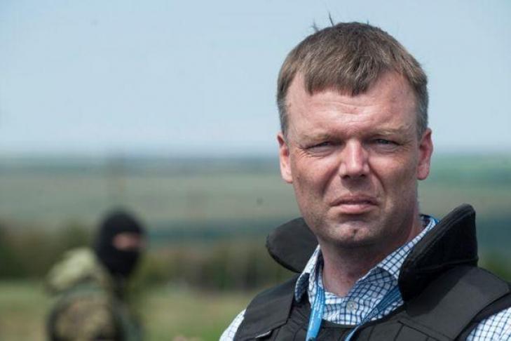 Миссия ОБСЕ вЛуганской области зафиксировали шесть БМП ибронетранспортер