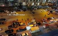 Крупное ДТП в Харькове: столкнулись сразу 9 автомобилей