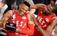 В Матче звезд NBA команда Запада победила сборную Востока