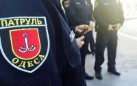 Полиция Одессы вводит досмотр личных вещей и автомобилей граждан