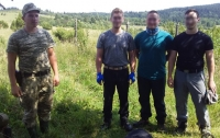 На Львовщине за нарушение границы задержали трех граждан Германии