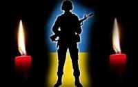 От пули снайпера погиб украинский боец