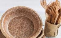 В Украине начали продавать съедобную одноразовую посуду