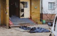 Неизвестно откуда упал молодой нацгвардеец, тело нашли около многоэтажки