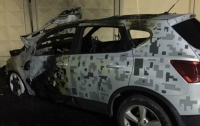В Николаеве сожгли автомобиль директора городского департамента