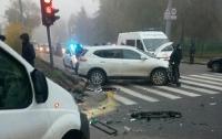 Водитель Nissan спровоцировал тройное ДТП в Харькове