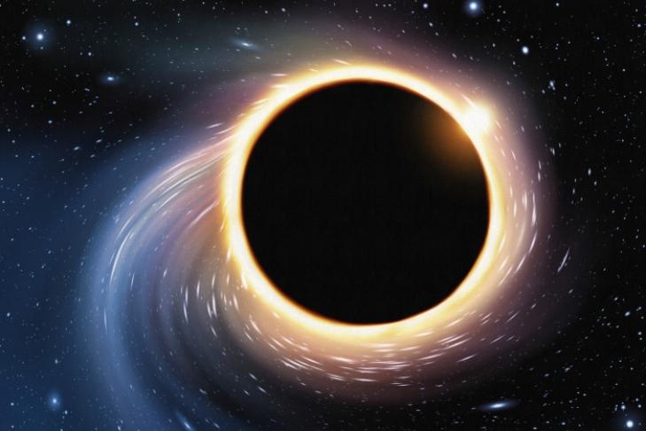 Внашей Галактике найдена «спрятавшаяся» темная дыра