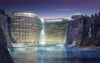 В Китае в заброшенной шахте откроют пятизвездочный отель