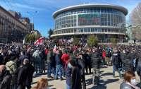 В Грузии начались массовые протесты