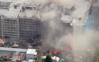 В Токио вспыхнул крупный пожар