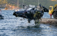 В далекой стране разбился вертолет с россиянами на борту