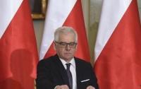 Новый глава МИД Польши сделал громкое заявление об отношениях с Украиной