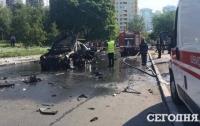 Взрыв в Киеве: в МВД рассказали о взрывчатке в машине полковника