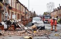 Пять человек пострадали в результате взрыва в доме в Манчестере