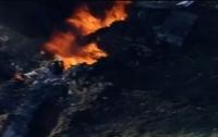 Число погибших при крушении военного самолета в США возросло до 16 человек