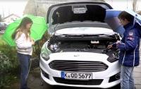Ford реализовал технологию использования дождевой воды в стеклоомывателе