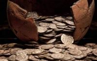 Японские археологи нашли крупный денежный клад
