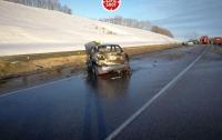 Семь человек погибли на трассе в России (видео)