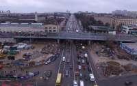 В Киеве с 9 июля ограничат движение транспорта Шулявским путепроводом