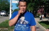 На Одесщине ветеран АТО разобрался с фанатом президента РФ