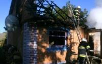 Масштабный пожар на Виннитчине: мать и пятеро детей оказались в больнице