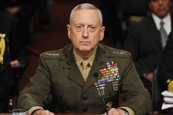 Сенаторы утвердили Джеймса Мэттиса в должности главы Пентагона