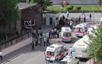 На фабрике в Турции прогремел взрыв (видео)