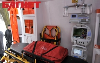 «Киевмедавтотранс» получит 42 кареты скорой помощи