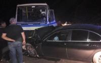 В Одесской области пьяный водитель BMW врезался в микроавтобус, пострадали семь пассажиров