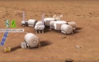 NASA выпустило видеоролик о строительсве колонии на Марсе