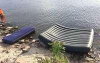 На Киевском водохранилище утонул папа и двое детей