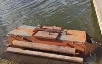 Под Одессой нашли подводную лодку контрабандистов (видео)
