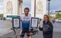 Шотландец установил мировой рекорд, объехав весь мир за 79 дней на велосипеде