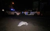 ДТП в Киеве: лоб в лоб столкнулись BMW и полицейское авто, есть пострадавшие