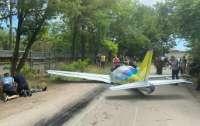 В Одессе упал самолет, есть жертвы