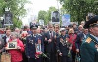 Вадим Новинский прошел в рядах полка Победы в Киеве