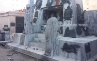 Анархисты устроили взрыв на кладбище в Буэнос-Айресе