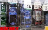 Журналисты выяснили, что 50% украинского рынка алкоголя находится в тени