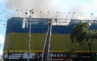 Пожар на Крещатике: полиция открыла дело по факту инцидента