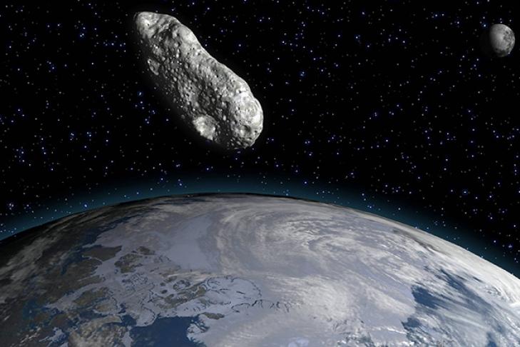 Всередине осени астероид размером сдом пролетит рядом сЗемлёй
