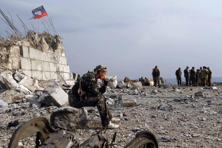 Штаб: Оккупанты открыли минометный огонь позащитникам шахты Бутовка