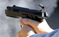 Киевлянин устроил стрельбу с балкона